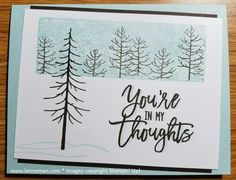 Dena Lenneman, Stampin' Up! Demonstrator: Thoughtful Branches Clear Block Stamping