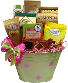 Inexpensive christmas gift ideas for teachers gift basket ideas delight expressions blooming wishes gourmet food gift basket a easter gift basket idea negle Image collections