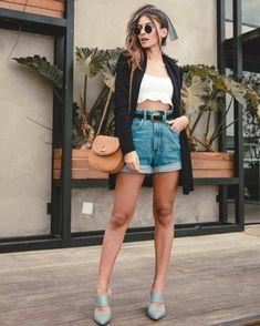 Como montar looks estilosos com Jeans. Instagram: @Viihrocha