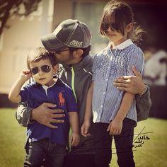 Hamdan MZN, Hamdan MRM y Fatma MZN (02/03/2013). Fotografía: Khalid Rashid Aldry