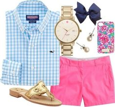 Just a preppy outfit