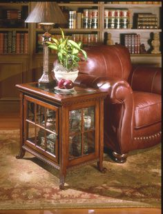 Chopin Side Chair Curio | Butler Specialty Company | Home Gallery Stores