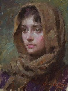 Morgan Weistling Christian Paintings | Morgan Weistling - Anastasia