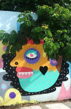 Street Art, Chiang Mai, Thailand - photo by Sarah Appleford at www.travellingapples.com