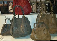 Ladies Faux Leather Shoulder Handbag with Woven Handles borsa Beutel sac 37,78 € su bandana.it