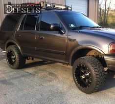 685 6 1999 expedition ford leveling kit fuel driller black gunmetal aggressive 1 outside fender. New Trucks, Cool Trucks, Lifted Trucks, Ford 4x4, Ford Bronco, Lifted Ford Explorer, Crossover Suv, Expedition Vehicle, Ford Fusion