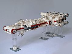 My latest creation: #Tantive IV #BlockadeRunner #Lego #StarWars #LegoStarWars #UCS #StarWarsLego