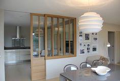 Cuisine ouverte : une verrière en mode coulissant | Lofts, Kitchens ...
