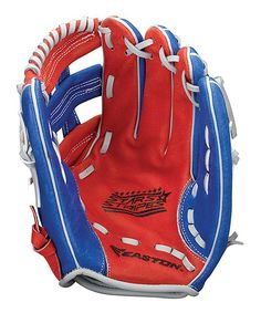 Red & Blue Stars & Stripes Right-Handed Ball Glove