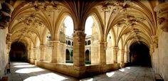 Claustro del Monasterio de San Zoilo. Carrión de los Condes.