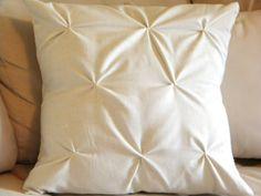 DIY Pucker Pillow