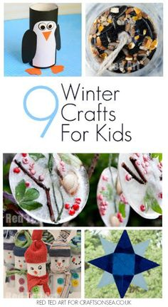 Gorgeous inspiration to keep the kids busy and happy in the colder weather with these fabulous and fun winter crafts to make with kids.
