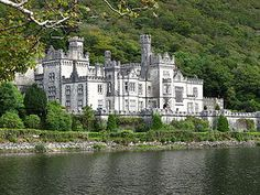 Kylemore Abbey, Connemara, County Galway, Ireland.  One of the most beautiful places I've ever visited.