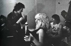 Sid and Nancy were good friends of DeeDee's. When they died, he wrote Love Kills about them.