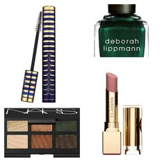 Fall makeup trends for 2013, dramatic eyes with nude lips.