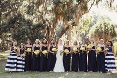 We loved this wedding at the #ShipyardBeachClub published in @Charleston Weddings     Catering #downtowncaters  Flowers by #FlowersbyFreshCuts   Dress by @Pronovias  #blue #white #yellow #bluewhiteyellow #freshphotographyforhappycouples, #ameliaanddan, http://ameliaanddan.com