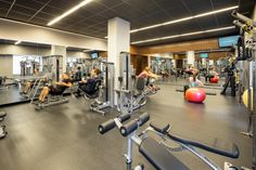 The fitness center at Gotham West has a separate weight, cardio, and studio for all your fitness needs!