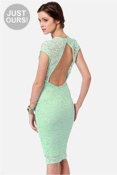 mint green dress - Google Search