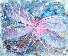 Painting, art, dragonfly