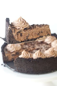 chocolate oreo ice cream pie