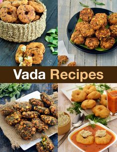 38 Vada Recipes, Collection of South Indian Vada Recipes - Irene Lopez - 38 Vada Recipes, Collection of South Indian Vada Recipes 38 Vada Recipes, Collection of South Indian Vada Recipes - Appetizer Recipes, Snack Recipes, Cooking Recipes, Appetizers, Cooking Videos, Cooking Tips, Vegan Recipes, Indian Street Food, Indian Food Recipes