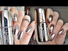 If you are a big fan of manicure, you can not miss the Essie brand. Mirror Effect Nail Polish, Mirror Nails, Nail Polish Designs, Nail Polish Colors, Nail Designs, Nail Lacquer, Metallic Nail Polish, Gel Nails, Acrylic Nails