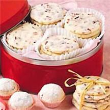 Cranberry Shortbread Cookies