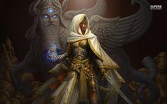 queen fantasy warrior | Middle eastern warrior queen wallpaper - Fantasy wallpapers - #25087