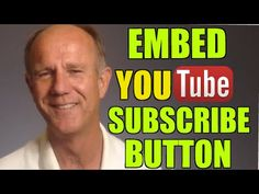How To Embed A YouTube Subscribe Button On Your Websitehttp://www.drostdesigns.com/get-youtube-trafficDo you want to build your channel's audience? Although most YouTubers add a subscribe button to their YouTube channel they forget to add one to their website. More subscribers equals more views.The YouTube Subscribe Button lets you add a one-click subscribe button to any web page. The button lets people subscribe to your YouTube channel without even leaving your website, log in to YouTube or…