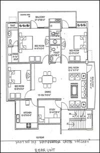 Floor Plans - Civitech Housing India (p) Ltd. Ghaziabad Residential Property Buy - Civitech Housing India (p) Ltd. Bungalow Style House, Bungalow Floor Plans, Modern House Floor Plans, Duplex House Plans, House Layout Plans, Luxury House Plans, Four Bedroom House Plans, Family House Plans, New House Plans