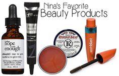 Nina Dobrev's Favorite Beauty Products