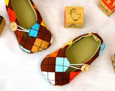 Baby Shoe Sewing Pattern - Jack and Jill Loafers Sewing Pattern