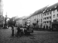 Friburgo. Plaza de la catedral