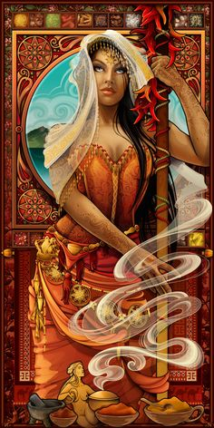 Goddess of Spices_by Echo Chernik