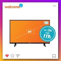 #welcomestores #homeappliances #welcomesales #smarttv #sales #february Smart Tv, Tech Companies, February, Company Logo, Logos, Logo