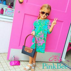 Lilly Pulitzer | Pink Bee Peace, Love, Lilly Longchamp