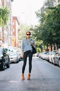 AG jeans, Old Navy shirt, Coach shoes, Celine bag