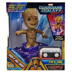 Guardians Of The Galaxy Vol 2 Groot  R/C Rock N Roll Dancing Toys Kids Gift NEW! #BestToys