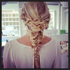braid. #braid #tresse #trenza #hair #hairstyle #tocado #cheveux #pelo