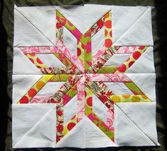 Maine Star from eleven stitches who used this book http://www.amazon.com/Fabulous-Paper-Pieced-Stars-Carol-Doak/dp/1564772713