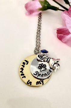 Hand Stamped Necklace, Washer Necklace, Jewelry, Fashion, Moda, Jewlery, Jewerly, Fashion Styles, Schmuck
