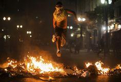 Violencia en las calles de Brasil