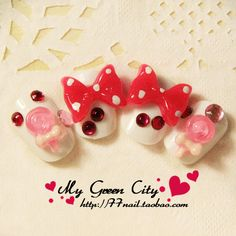 Aliexpress.com : Buy 2.24 nail art bow round toe short design false nail art nail patch from Reliable gel nail suppliers on Jessie's shop. $7.78