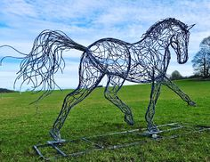 New Horse Sculpture is Unveiled
