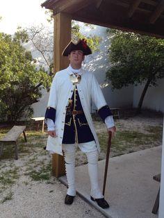 18th century Spanish officer