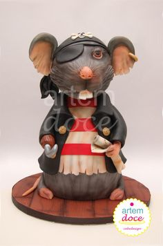 Pirate Mouse by Margarida Guerreiro
