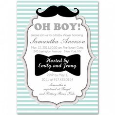 309 best baby shower ideas images on pinterest baby shower parties little man mustache baby boy shower ideas and invitations filmwisefo