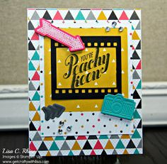 Stampin' Up! You're Peachy Keen Card