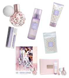"""""""Ari by Ariana Grande"""" by arbogastolivia ❤ liked on Polyvore featuring beauty"""