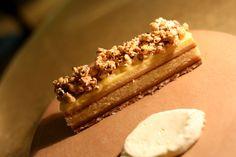 Olive oil cake dessert, Cirrus, Barangaroo, Sydney